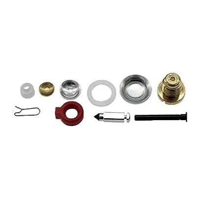 Jahyshow Carburetor Carb Kit w/Float For Johnson Evinrude 9.9 HP 15 HP 1974-1988 398453: Automotive