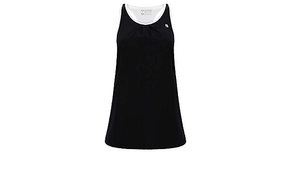 Camiseta sin Mangas con Top Integrado para Yoga de Mujer ...