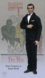 Bond 12 James Figure - Sideshow James Bond Dr No Sean Connery 12 Action Figure by Sideshow Collectibles