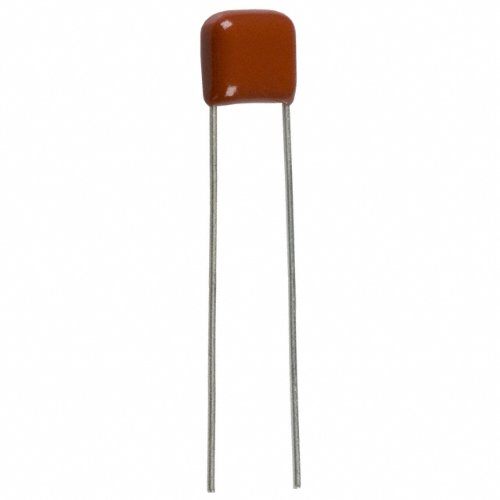 Set of 20 Pieces CAPACITOR ECQ-V1103JZ Polyester Mylar Film Capacitor 10nF (0.01uF) 100V 10% Radial, Lead space: 5mm ()