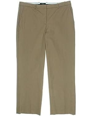 Womens Hartsdale Twill Straight Leg Chino Pants