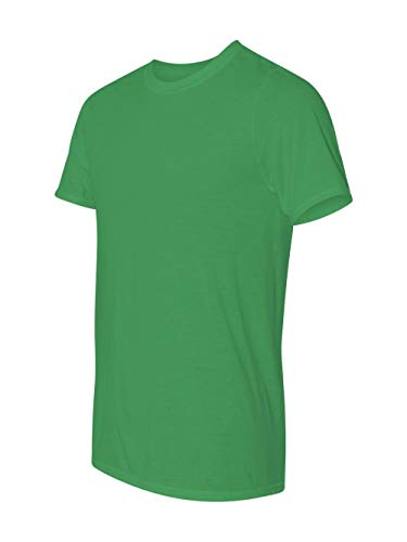 Men's core performance t-shirt. (Irish Green) (X-Large)