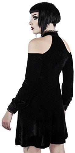 Killstar WEBUTANT Kleid Dress Wicked Schwarz rOr16wq