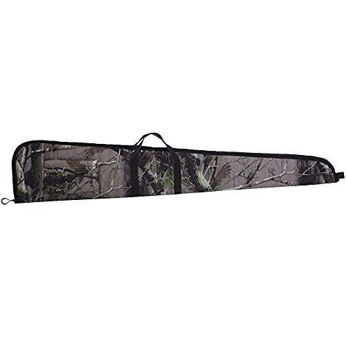 Soft Shotgun Case Non-Scoped Rifle Carry Bag Long Gun Holster for Hunting Tactical(Camo,48inch)