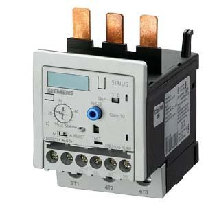 Siemens 3RB20 36- 1UB0 Solid State Overload Relay, Class 10, S2 Contactor Size, 12.5-50A Set Current Value