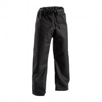 Playwell Karate Peso Pesado Lona Pantalones Negros 398ml Cintura El/ástica