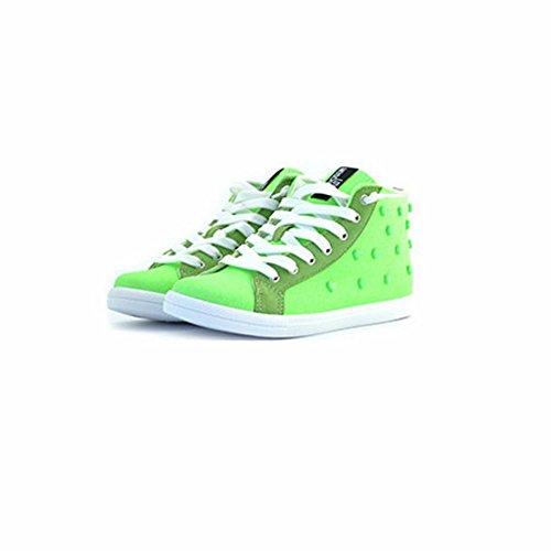 Love Moschino Sneakers Aus Stoff Grün Grün