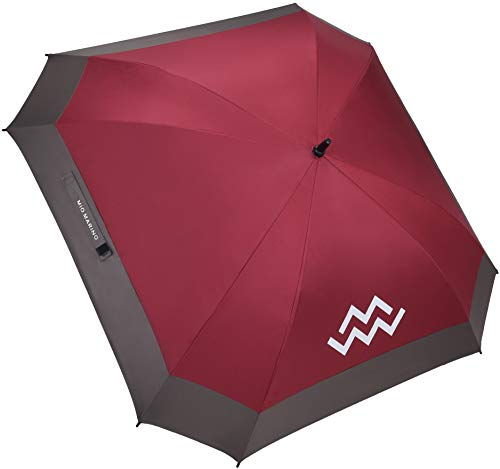 Mio Marino Extra Large Golf Umbrella Windproof - Square Umbrella - UV Protection - Automatic Open 62 Inch - for Men Women ()