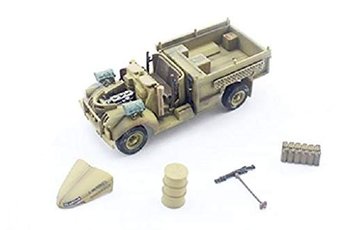 PMA 1:72 British Chevrolet WB 30 CWT 4x2 Long Range Desert Group Patrol Truck - Sand Camouflage