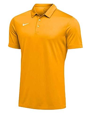 Nike Mens Dri-FIT Short Sleeve Polo Shirt (Sundown, XX-Large) by Nike