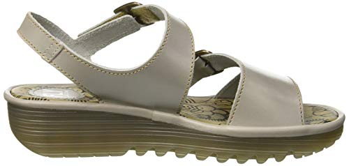 Fly Chiusura Giallo white T A off 006 Sandali bumblebee Wesy948fly Con London Donna IPqwZx8P