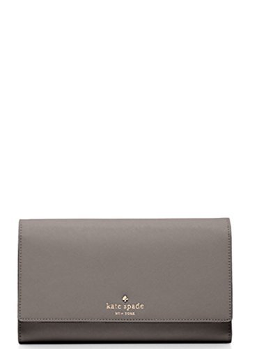Kate Spade New York Mikas Pond Phoenix Tri-fold Wallet Cliff Grey by Kate Spade New York