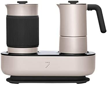 Cafetera Moka pot cafetera Mocha máquina de espuma + calentador leche espuma máquina de café simple presión café puede hacer espuma de leche: Amazon.es: Hogar