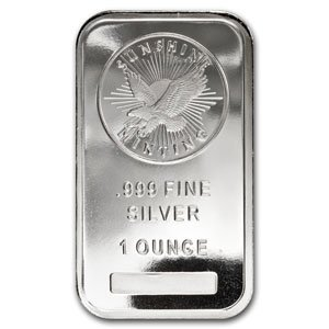 Sunshine Minting Silver Eagle 1 Oz Silberbarren Barren 999 Silber Silver Neu !