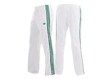 Adidas SPO Beckenbauer Pantalón chándal pantalón Blanco verde ...