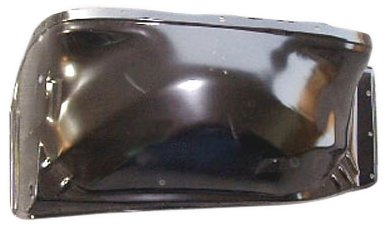 OE Replacement Chevrolet/GMC Front Driver Side Fender Apron Assembly (Partslink Number GM1246102)