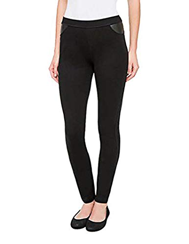 DKNY Pull On Ponte Pant (Black, M) for $<!--$23.99-->