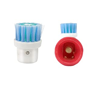 Best Oral B Braun Electric Toothbrush Compatible Replacement Brush Heads, 4 Count