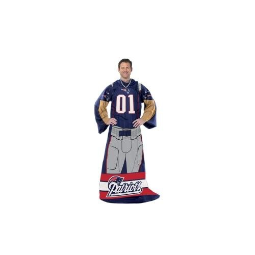 New Soft Patriots England Blanket (New England Patriots Huddler Wrap (Uniform))