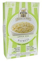 Bakery On Main Apple Pie Flavor Instant Oatmeal, 10.5 Ounce - 6 per case. (Bakery On Main Oatmeal Apple Pie)