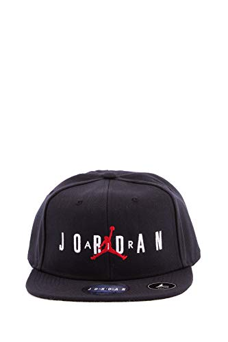 NIKE Boy`s Jordan Jumpman Air Cap (Black(9A0128-023)/White, 8/20)