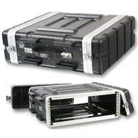 ABS-3U - Stackable ABS 19? Rack Flight Case - 3RU