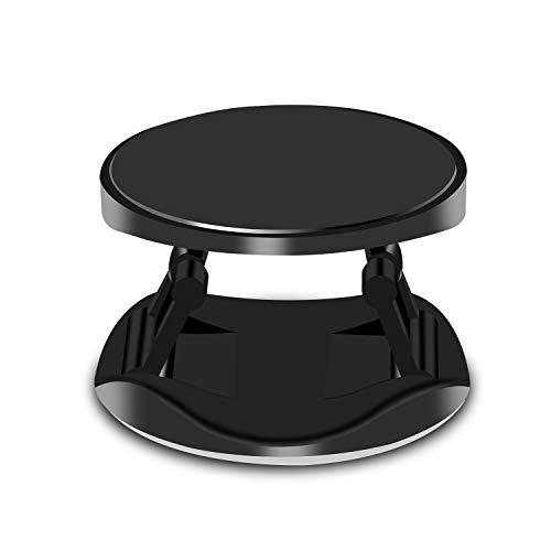 Phone Grip Holder, Cellphone Anti-Slip Anti-Drop Folding Stand Adjustable for Car Desk Bed Bike Running, Universal Grip Holder for iPhone, iPad, Samsung LG Smartphones and Tablets - Black