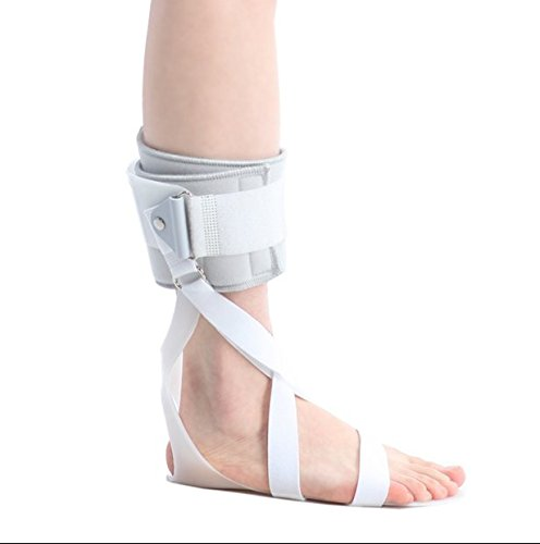 AFO Drop Foot Support Splint Ankle Foot Orthosis Support (Small/Left: 23.5cm length, 26cm height)