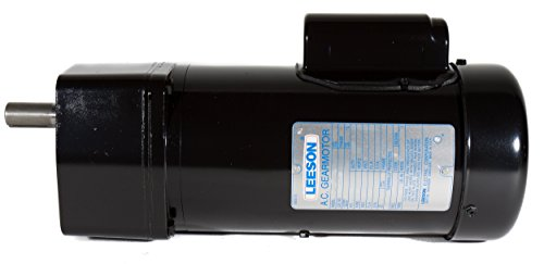 Leeson 096066.00 TEFC AC Gearmotor, 3 Phase, 42Y Frame, Special ...