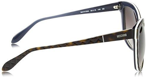 Moschino - Lunette de soleil MO741S Œil de chat  - Femme Tortoise-white frame/ sh. Brown lenses