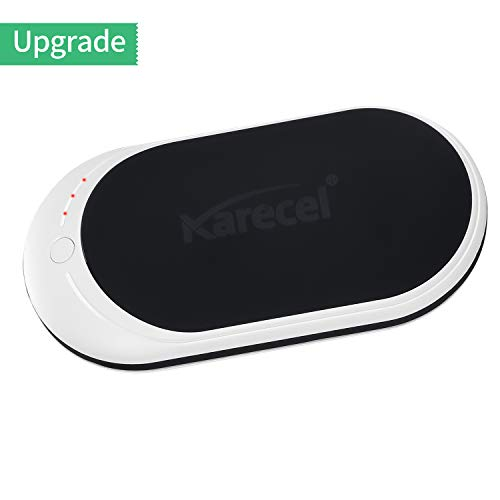 Karecel Hand Warmers Rechargeable, Electric Hand Warmer Reusable 5200mAh Powerbank Portable USB Heater Battery Hot Pocket Warmer Heat Handwarmers, Cool Gifts for Men and Women in Cold Winter