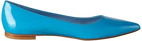 Blu Turquoise tunit10 Pollini Scarpad Donna Vernice Patent Ballerine Turchese 702 pYUYx8