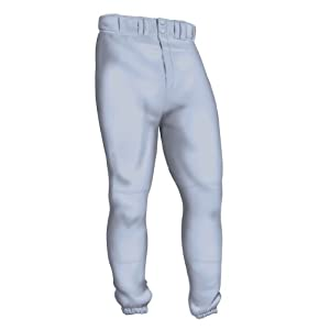 Easton Youth Deluxe Pant, Gray, Small
