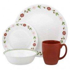 Corelle Spring Pink 16 Pc. Dinnerware Set