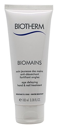 - Biotherm Biomains Age Delaying Hand and Nail Treatment, 3.3 Ounce