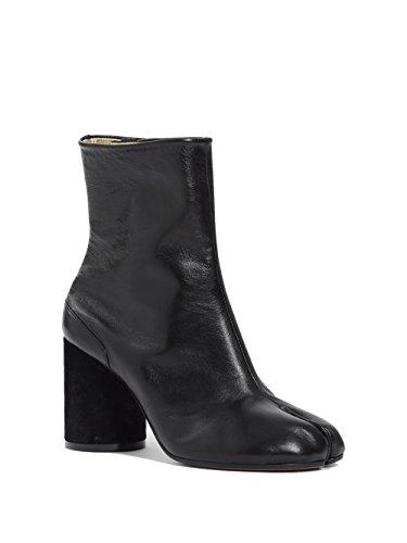 Femme MAISON S39WU0107SY1201900 MARGIELA Bottines Noir Cuir q1fHBfC5