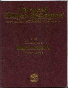 Complete Barbarian's Handbook 2nd Ed. Player's Handbook Rules Supplement