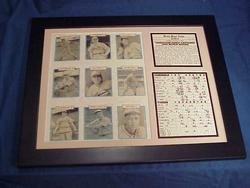 1934 St. Louis Cardinals World Series Gashouse Gang 11x14 Framed & Matted 8X10 - 1934 Baseball