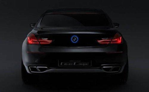 iJDMTOY 82mm BMW Trunk Hood Emblem Background Lighting Kit, Blue