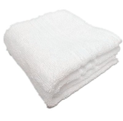 De Base Plush & Absorbent Hygro-Cotton Face Towels 100% Virgin Cotton (White)