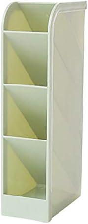 Multifunktionaler Desktop-Organizer, DIY Desk Tidy Storage Cabinet mit 4 Gittern, Kann horizontal oder vertikal platziert werden, Platzieren Sie Stifte und kleine Gegenstände (5 * 9 * 20 cm, grün)