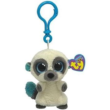 Ty 36500 Beanie Boos Cleo - Llavero de clip de mono de ...
