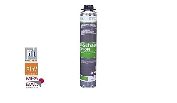 Espuma de poliuretano 1 K Profesional: Amazon.es: Bricolaje y herramientas