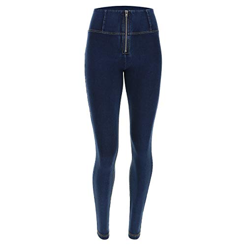 Gialle Donna Jeans Freddy Wrup1hj3e Scuro cuciture UfFaTq7w