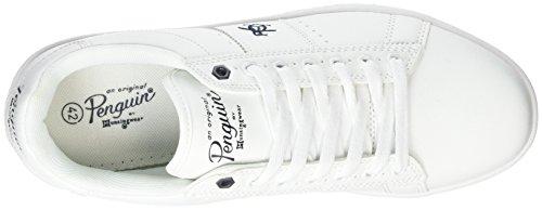 Original Penguins Steadman, Baskets Homme Blanc (White 809)