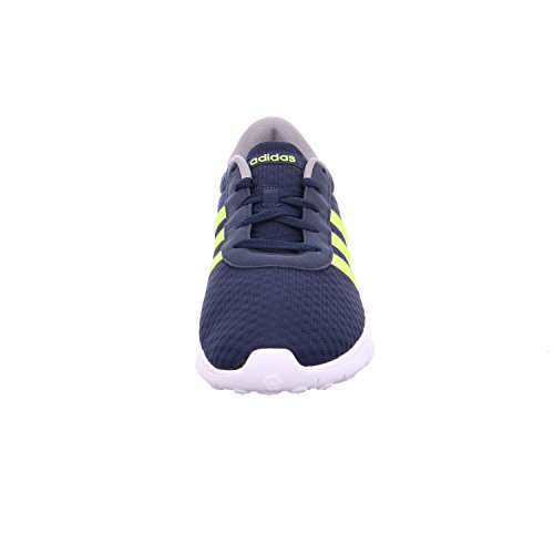 adidas Lite Racer, Zapatillas de Gimnasia Unisex Adulto Varios Colores (Collegiate Navy/Solar Yellow/Grey Three 0)