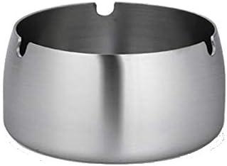 茶テーブルのゴミ箱はカバー傾向の方法かわいい灰皿が付いている灰皿のステンレス鋼の厚い灰皿できます YCHAOYUE (Size : L)