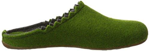 da grasgrün Verde donna Everest Haflinger 36 Lotta Pantofole Ytq8H