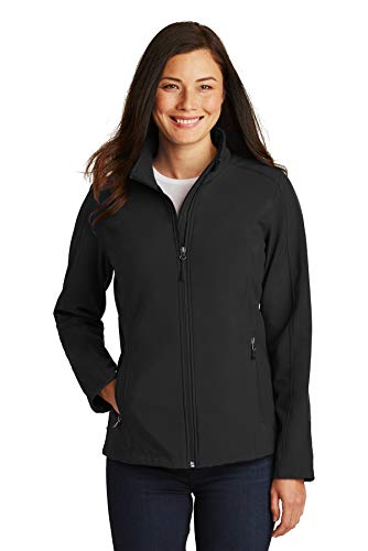 Port Authority Women's Core Soft Shell Jacket S Black from Port Authority