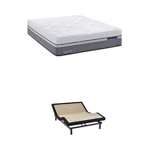 Sealy Posturepedic Hybrid Silver Plush Mattress, King